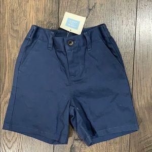 NWT Janie and Jack Boys Navy Blue Shorts